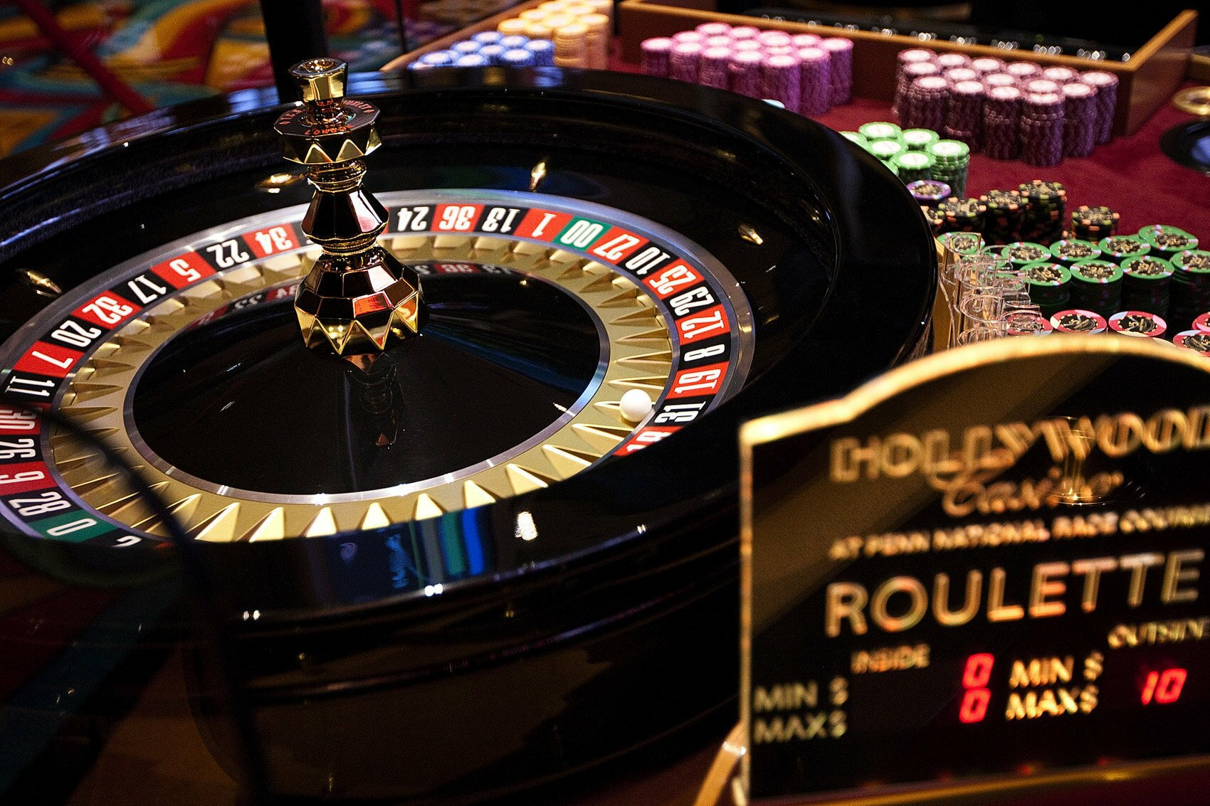 Casino roulette no limit